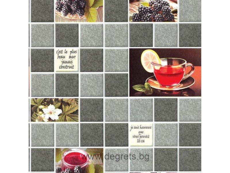 Тапет влаустойчив Чай сив