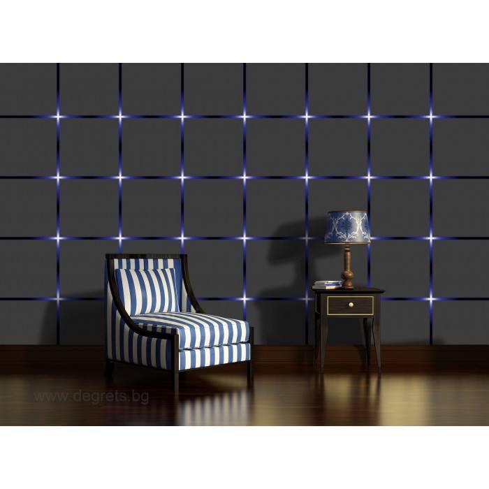 Фототапет Сини светлини 3D