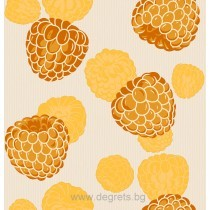 Тапет влагоустойчив Малина оранж