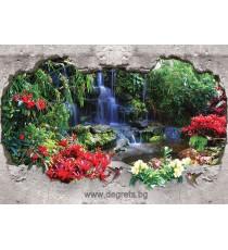 Фототапет Райски водопад 1 3D