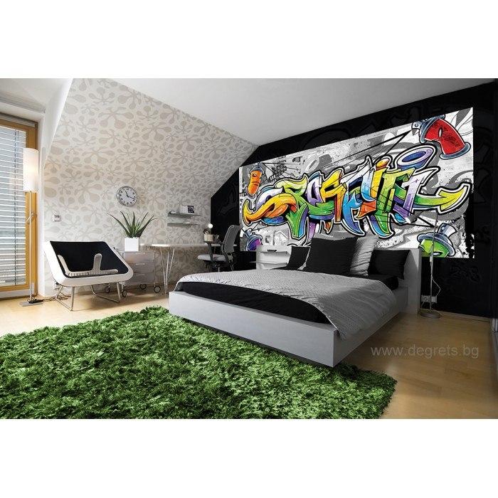 Фототапет флис Графити S