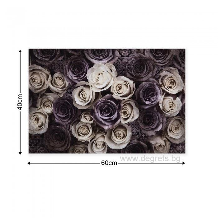 Картина Канава Рози 3D 1