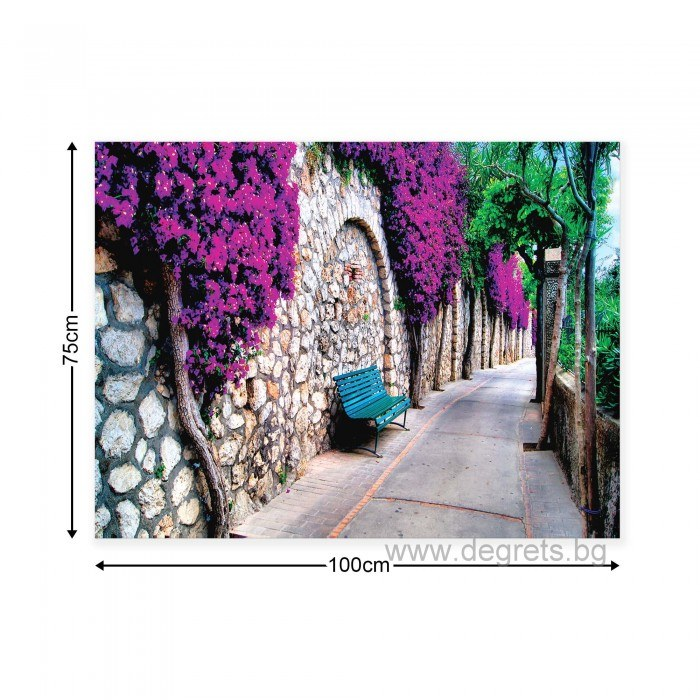 Картина Канава Лилава алея
