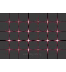 Фототапет Червени светлини 3D