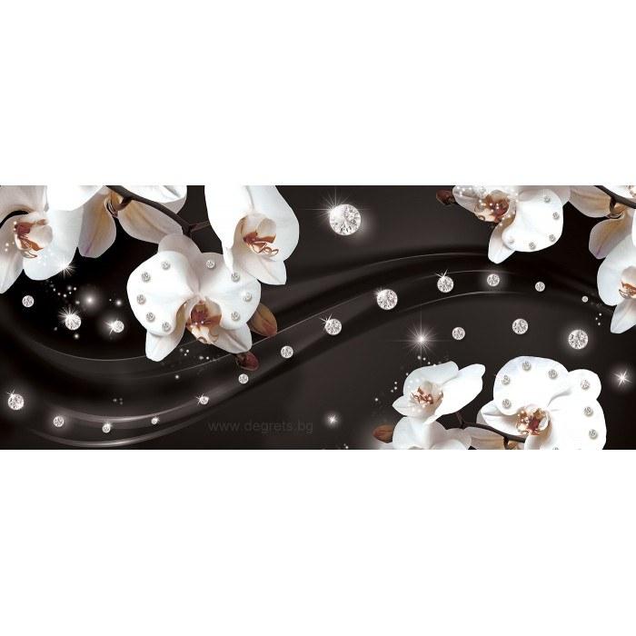 Фототапет флис Абстракция Орхидеи 2 3D S
