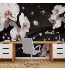 Фототапет Абстракция Орхидеи 2 3D XL