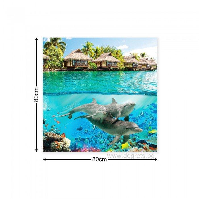 Картина Канава Животински свят 1 3D