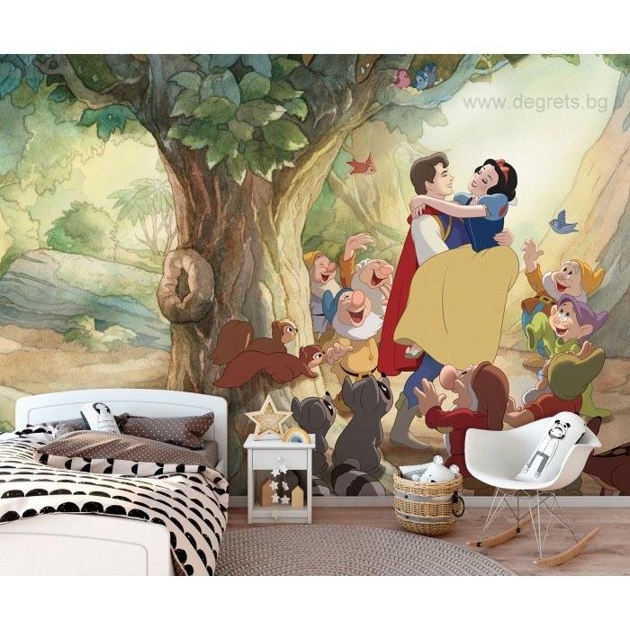 Фототапет Снежанка и принцът