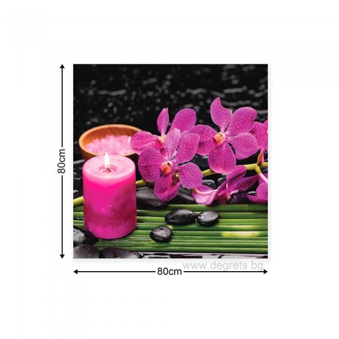 Картина Канава Орхидея 4 M
