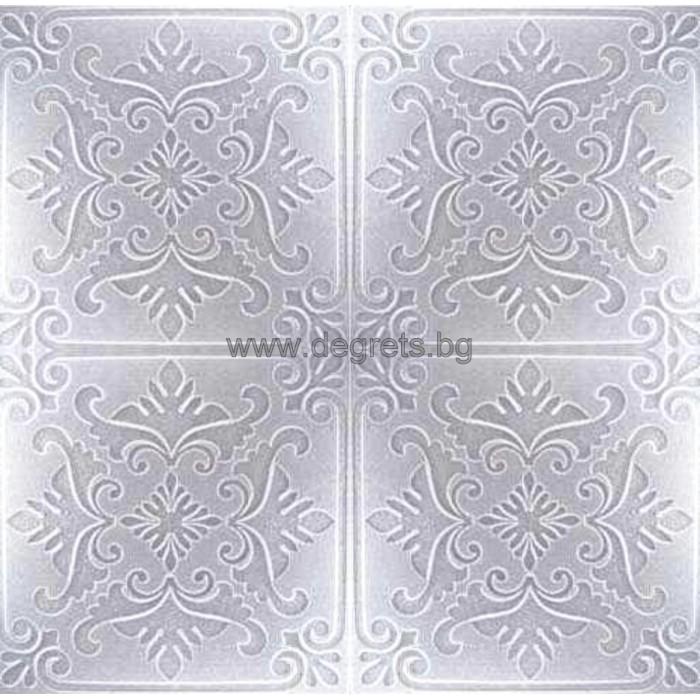 Таванска плоскост 50/50 номер 25-5001  бял