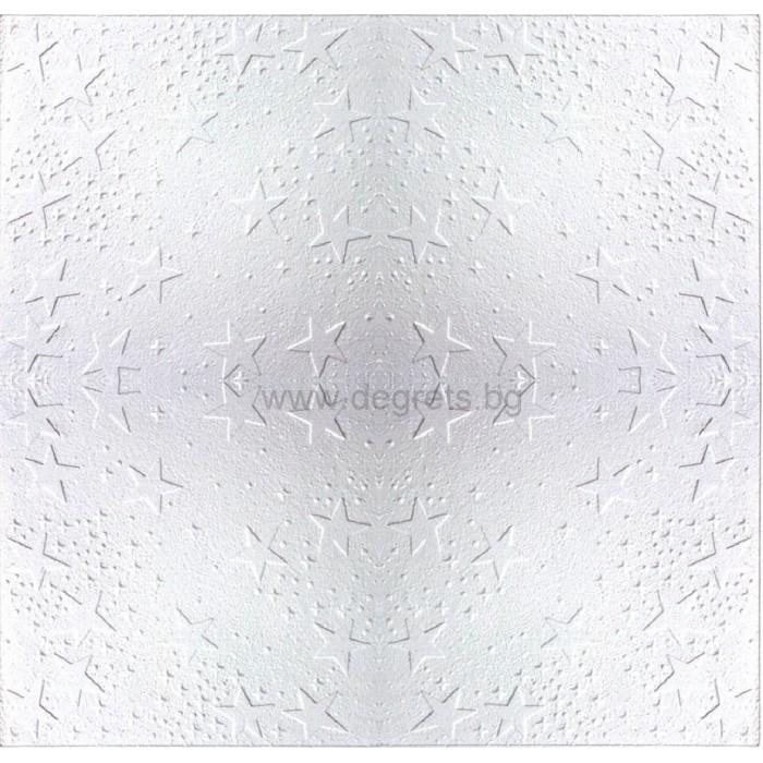 Таванска плоскост 50/50 номер 25-5009 бял