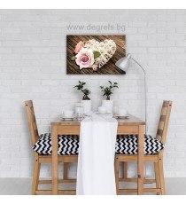 Картина Канава Любов - цветя 2 S