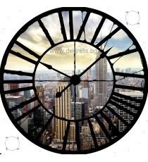 Фототапет флис Часовник От високо
