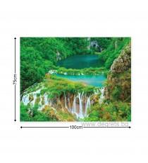 Картина Канава Водопад в джунглата L