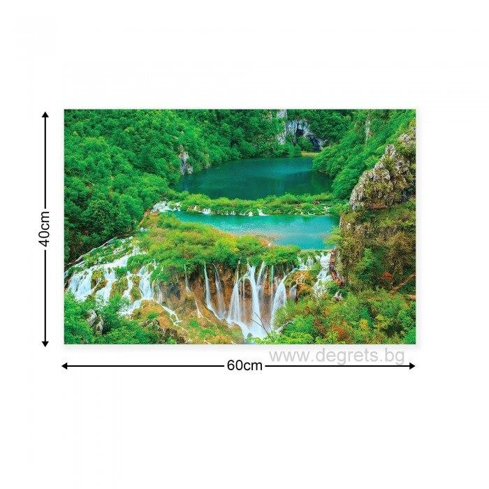 Картина Канава Водопад в джунглата S