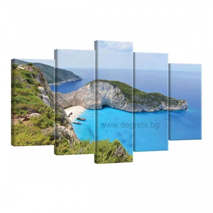 Картина Канава Гърция Сет 5 части