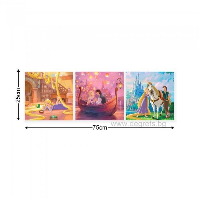 Картина Канава Рапунцел 2 Сет 3 части