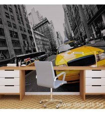 Фототапет Такси в Ню Йорк 1