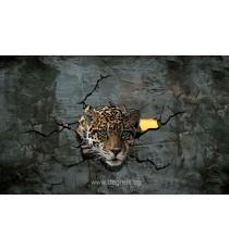 Фототапет Леопард 3 3D