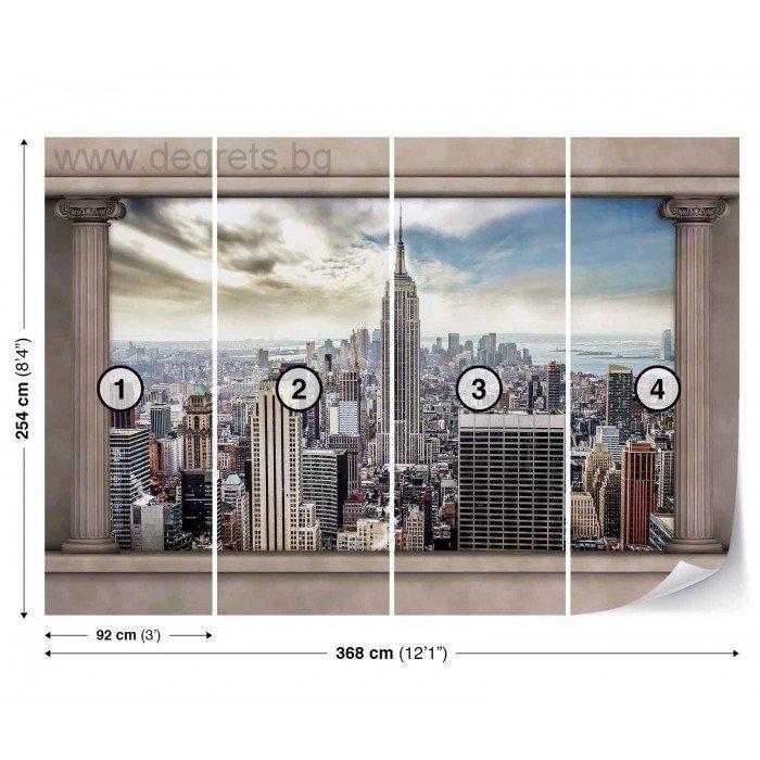 Фототапет Ню Йорк панорама 2