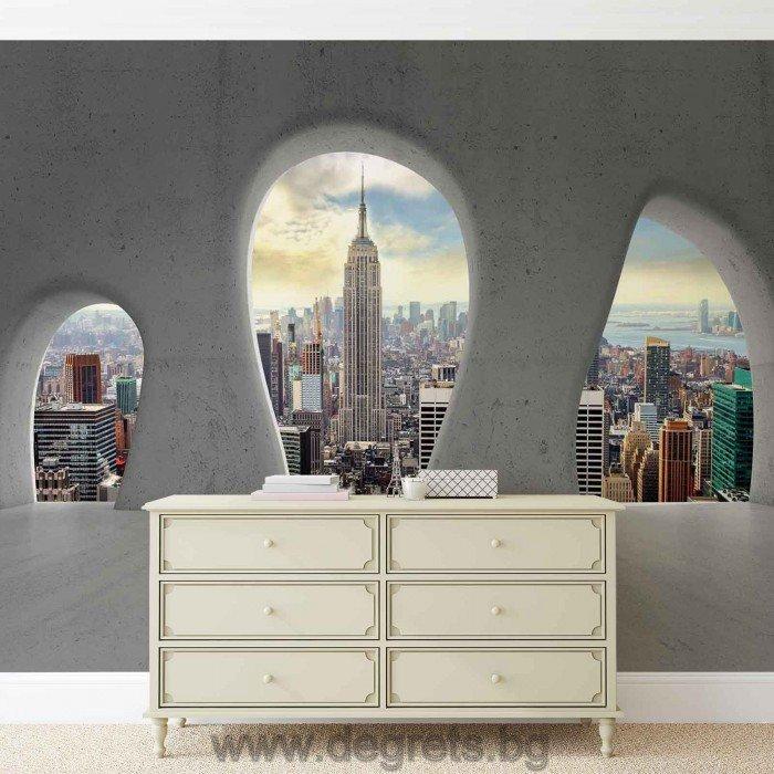 Фототапет Изглед към Ню Йорк