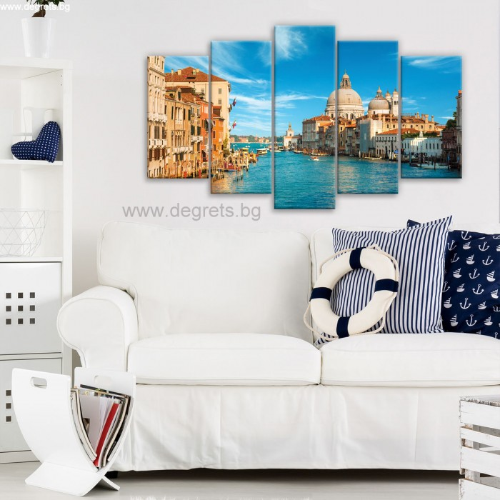 Картина Канава Венеция 1 Сет 5 части