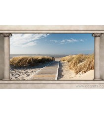 Фототапет Път към плажа