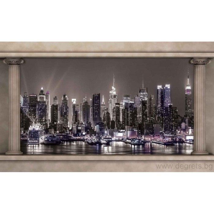 Фототапет Светлините на града