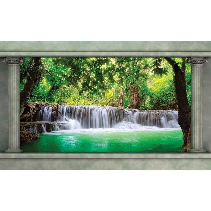Фототапет Водопад в гората