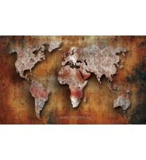 Фототапет Карта на света 2