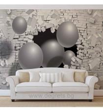 Фототапет Стена 3D