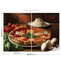 Фототапет флис Пица