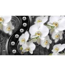 Фототапет Абстракция орхидеи 6 3D L