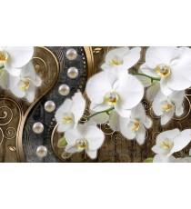 Фототапет Абстракция Орхидеи 7 3D L