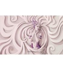 Фототапет Богиня лилав XL