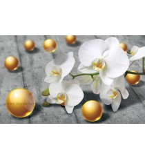 Фототапет Абстракция орхидея 2 3D