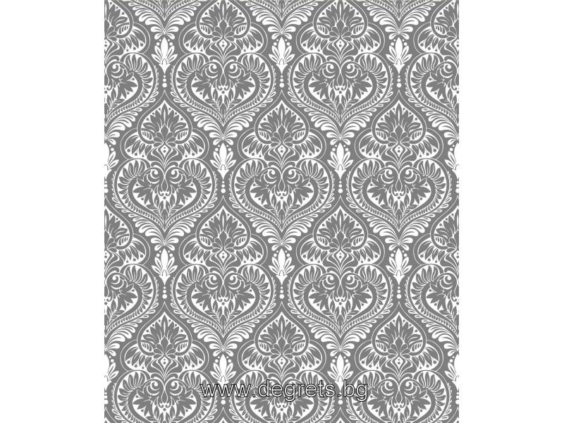 Тапет акрил Оникс сребро - 3 ролки