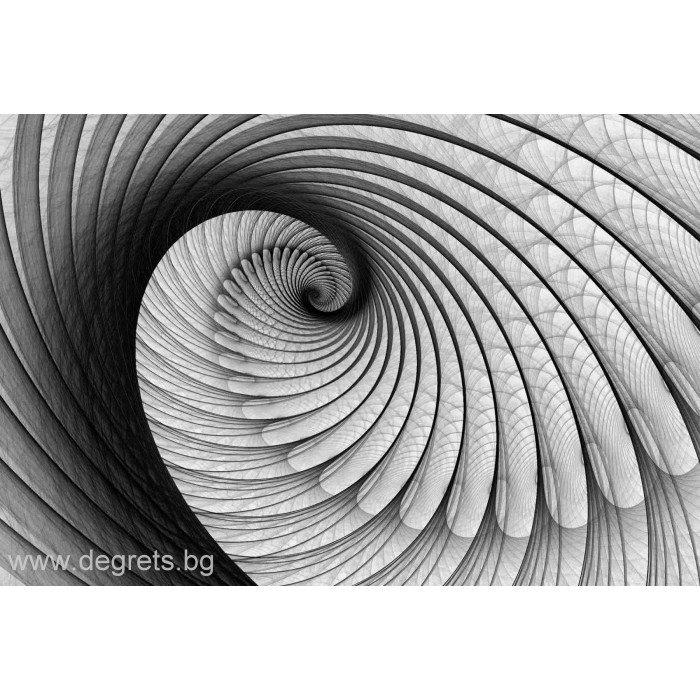 Фототапет Илюзия 3D Въртене