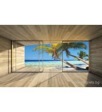Фототапет Къща на плажа