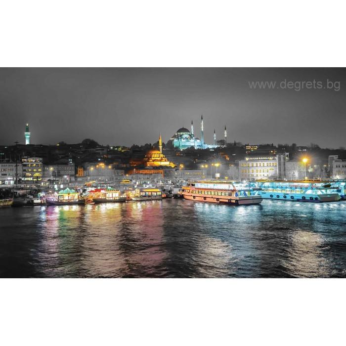 Фототапет Нощ над Босфора