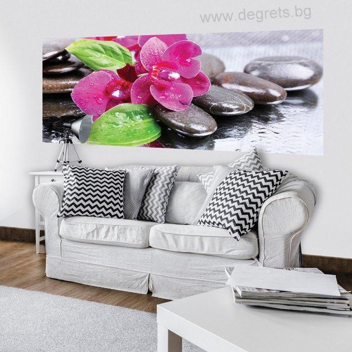 Фототапет флис Орхидеи Дзен 3