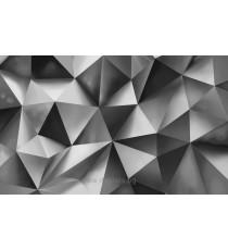 Фототапет Абстракция сребро 3D XL