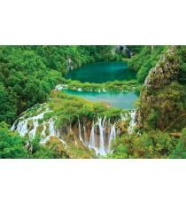 Фототапет Водопад в джунглата XL