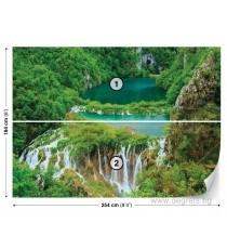 Фототапет Водопад в джунглата L