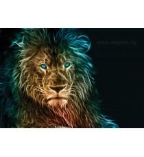 Фототапет Лъв 3D