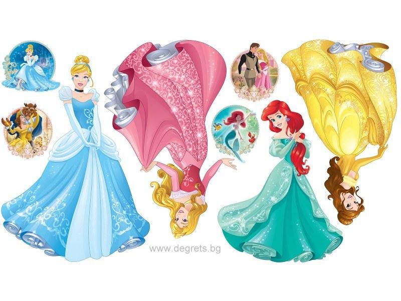 Стикер Дисни Принцеси 3 160 см