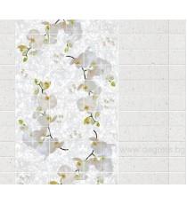 PVC панел за под Орхидея 3D ефект
