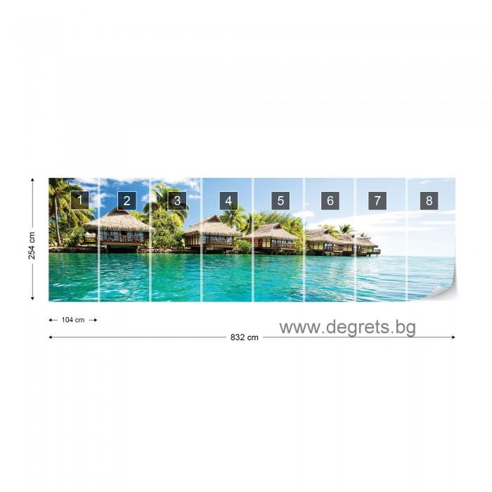 Фототапет Кариби 4XL