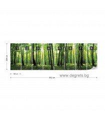 Фототапет флис Поглед към гората 4XL