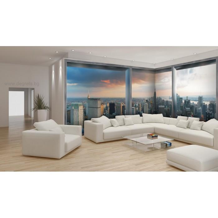 Фототапет флис Ню Йорк панорама 3XL